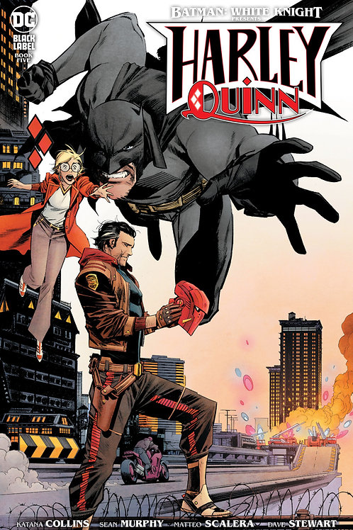 Batman: White Knight Presents Harley Quinn #5