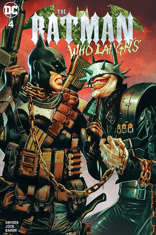 Batman Who Laughs #4 Mico Suayan Unknown Comics Exclusive