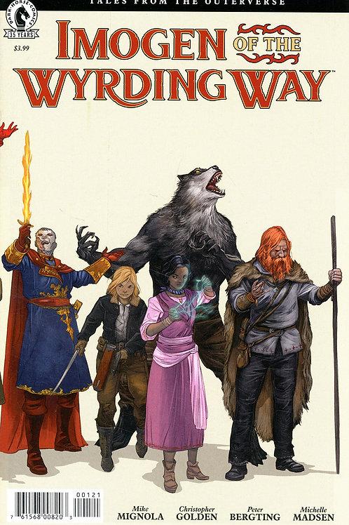 Imogen Of The Wyrding Way #1 Peter Bergting Variant