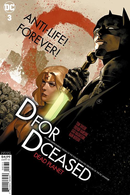 DCeased Dead Planet #3 Yasmine Putri Movie Variant