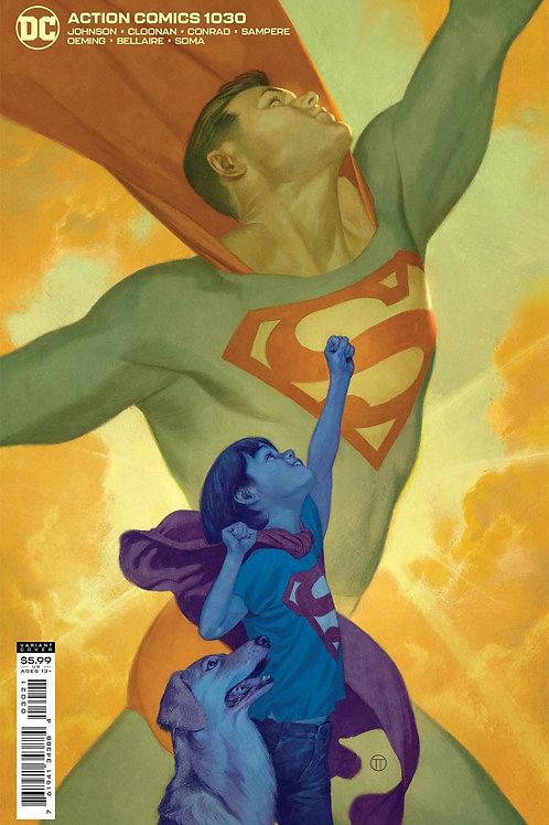 Action Comics #1030 Julian Totino Tedesco Variant