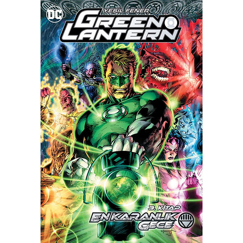 Green Lantern Cilt 12 En Karanlık Gece 3