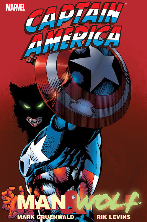 Captain America Man and Wolf