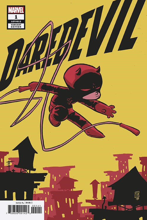Daredevil #1 Skottie Young Variant