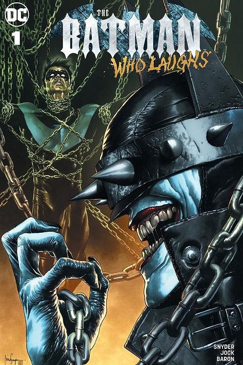 Batman Who Laughs #1 Mico Suayan Unknown Comics Exclusive