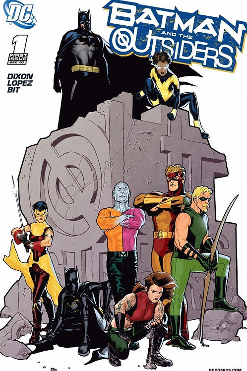 Batman and the Outsiders #1 Limited Variant