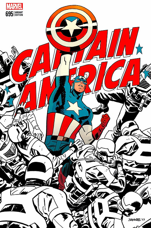 Captain America #695 Chris Samnee LCSD 2017 Exclusive Variant