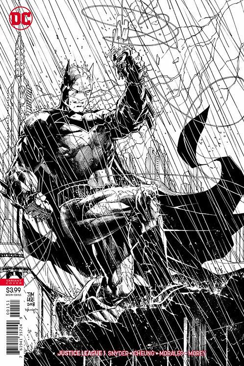 Justice League #1 Jim Lee Ink Variant