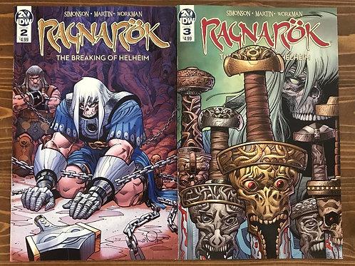 Ragnarok Breaking of Helheim #2-3 Set