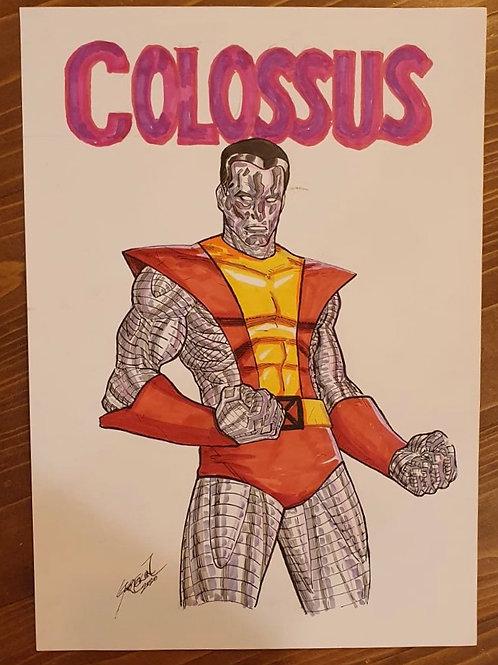 Colossus Uğur Gürtekin A4 Boy Orijinal Sanat
