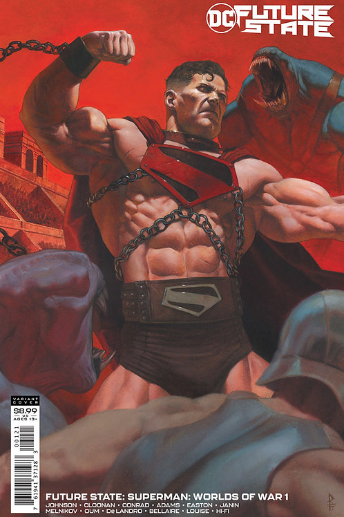 Future State: Superman: Worlds of War #1 Riccardo Federici Variant