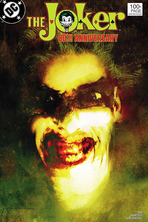 The Joker 80th Anniversary #1 Bill Sienkiewicz 1980s Variant