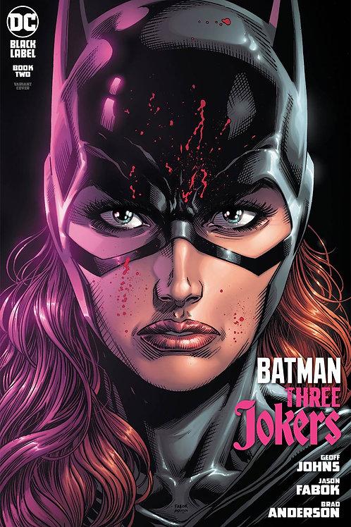 Batman Three Jokers #2 Batgirl Variant