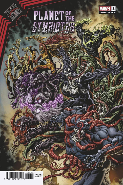 King In Black: Planet of the Symbiotes #1 Kyle Hotz Variant