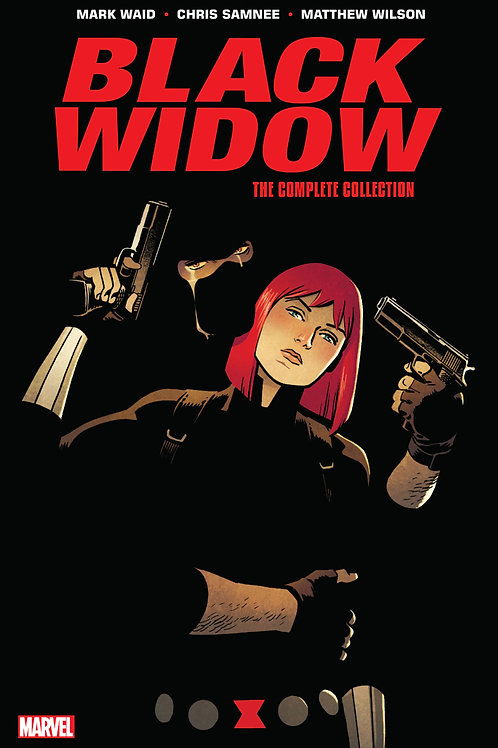 Black Widow By Mark Waid and Chris Samnee The Complete Collect
