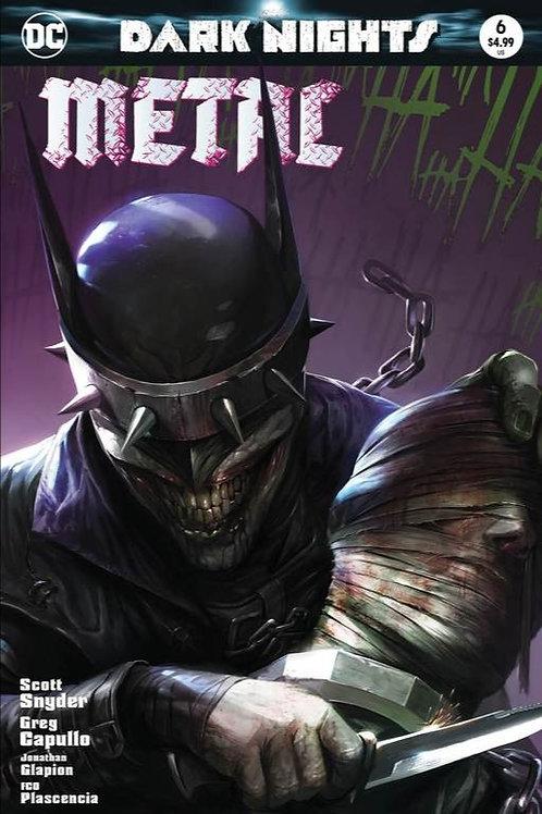 Batman Dark Nights Metal #6 Francesco Mattina Exclusive
