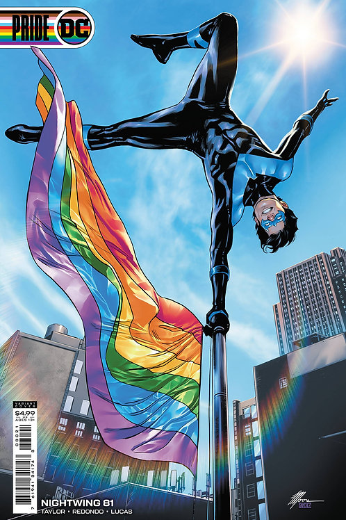 Nightwing #81 Travis Moore Pride Month Variant