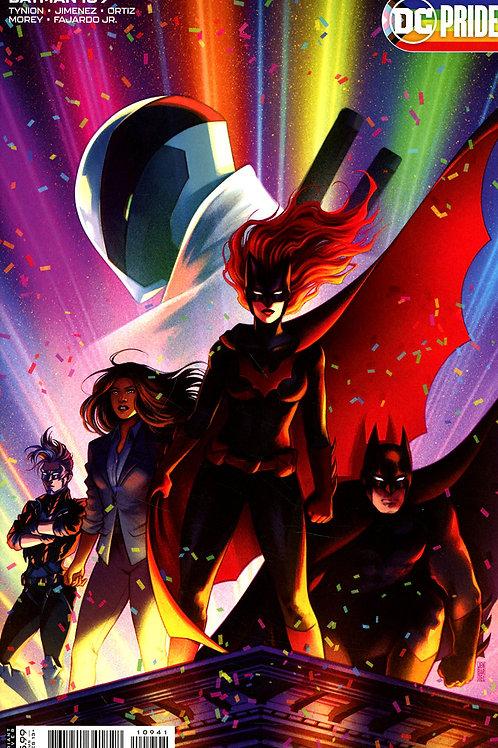 Batman #109 Jen Bartel Pride Month Variant