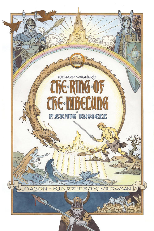 Ring of Nibelung Deluxe Edition HC