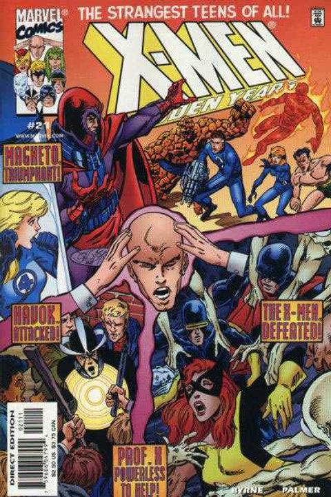 X-Men The Hidden Years #21