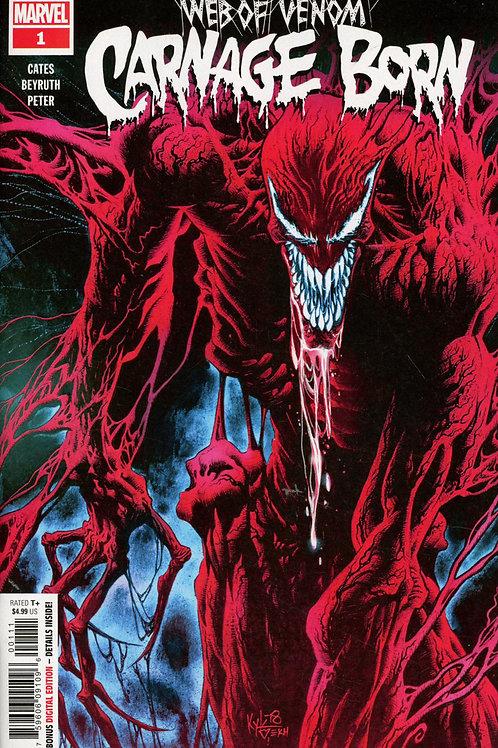 Web of Venom Carnage Born #1