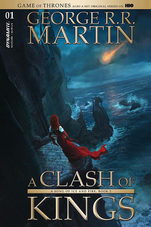 Game of Thrones A Clash of Kings #1 (2017) Marc Simonetti Variant