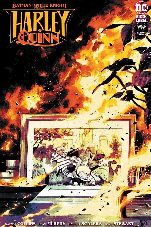 Batman: White Knight Presents Harley Quinn #5 Matteo Scalera Variant