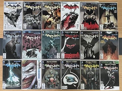 Batman New 52 0-52 + Annual #1-4 Tam Set