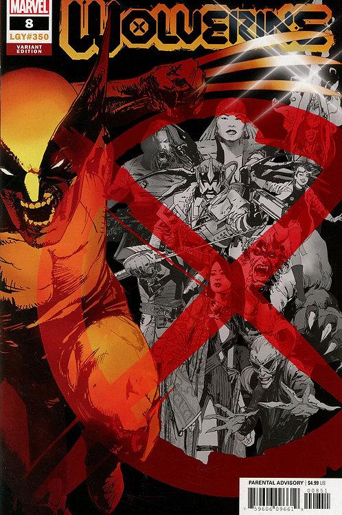 Wolverine #8 Bill Sienkiewicz Variant