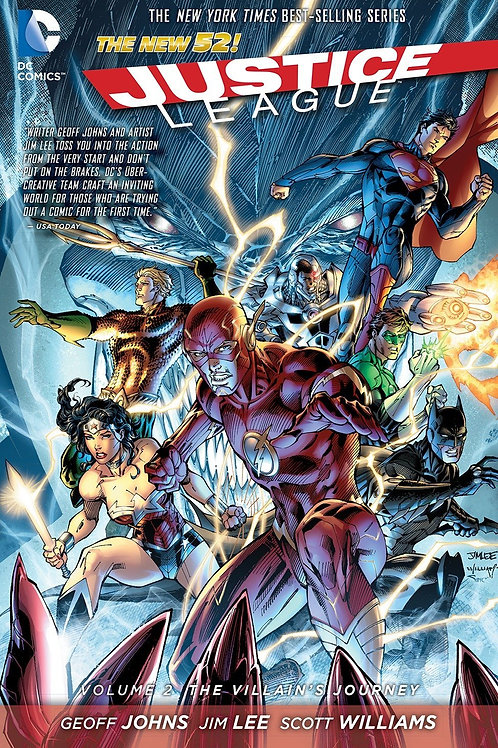 Justice League Volume 2 The Villain's Journey