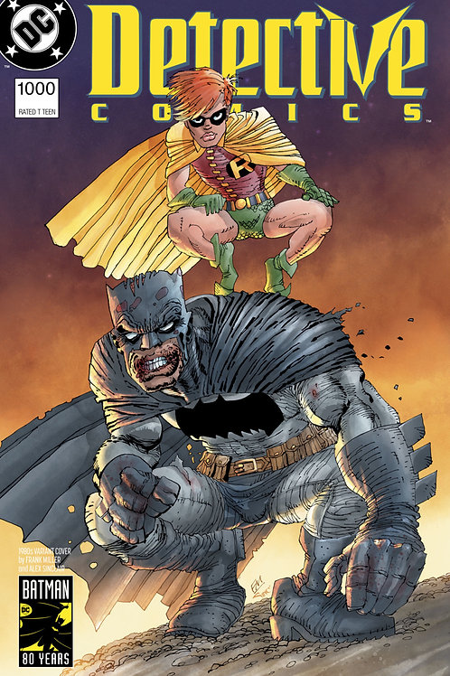 Detective Comics #1000 Frank Miller 1980s Variant