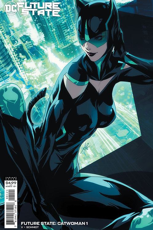 Future State Catwoman #1 Stanley Artgerm Lau Variant