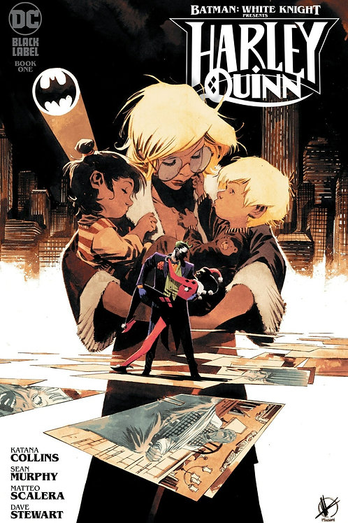 Batman: White Knight Presents Harley Quinn #1 Matteo Scalera Variant