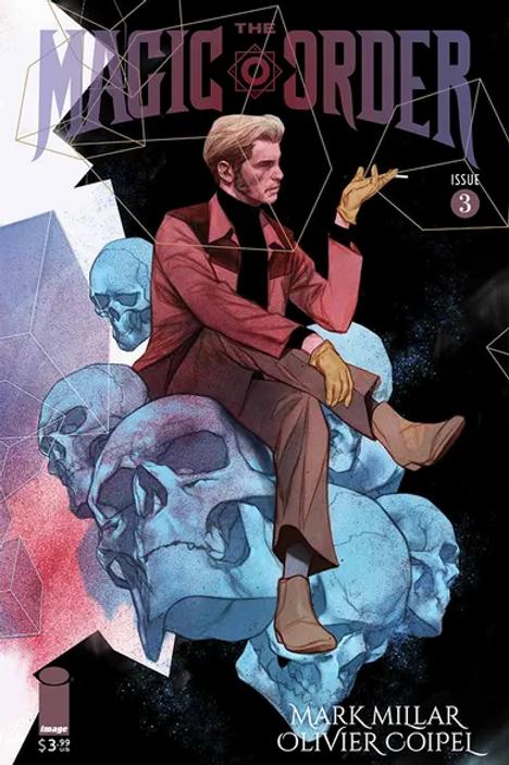 Magic Order #3 Forbidden Planet Exclusive Ben Oliver Variant
