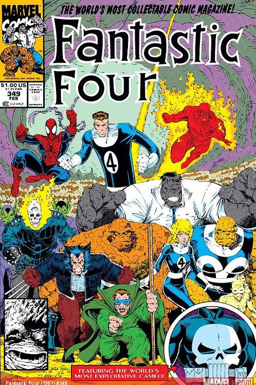 Fantastic Four #349