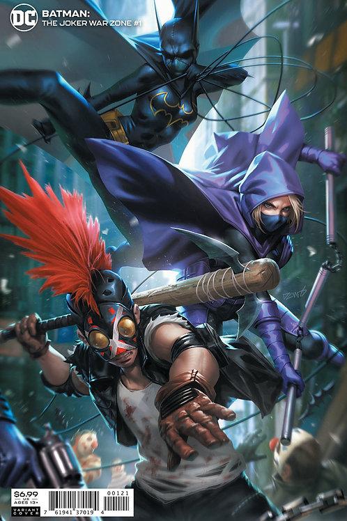 Batman: The Joker War Zone #1 Derrick Chew Variant
