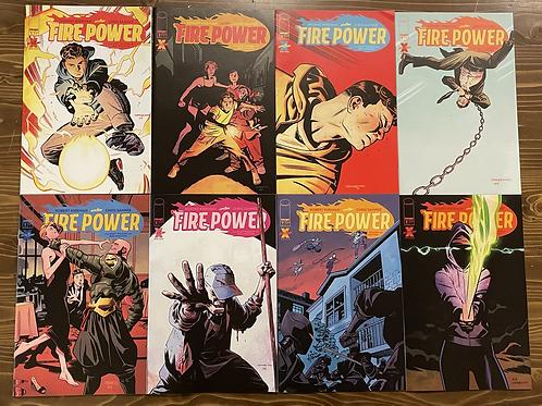Fire Power #1-2-3-4-5-6-7-8 Set