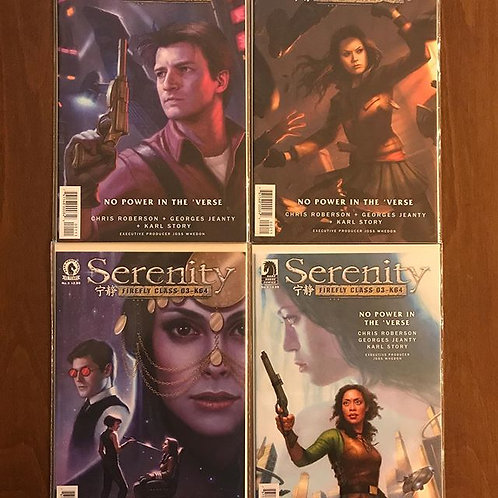 Serenity No Power in the Verse #1-2-3-4 Set