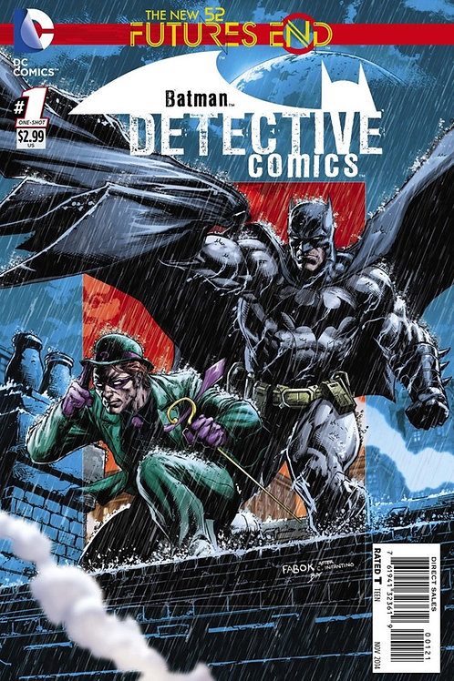 Detective Comics Futures End #1 Lenticular Cover