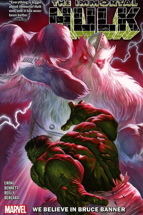 Immortal Hulk Volume 6 We Believe In Bruce Banner