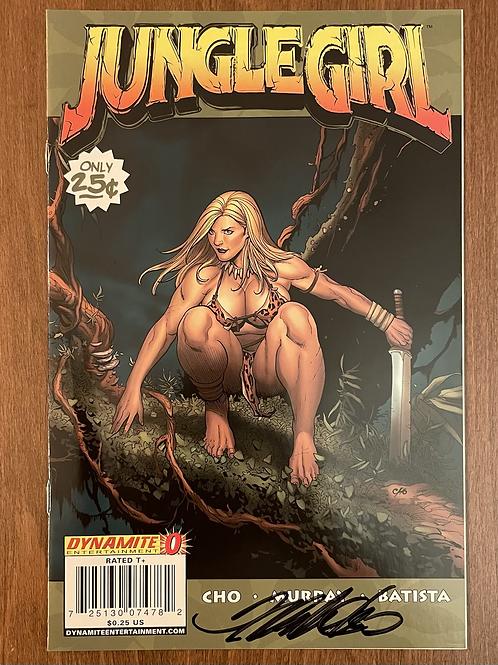 Jungle Girl #0 Frank Cho İmzalı