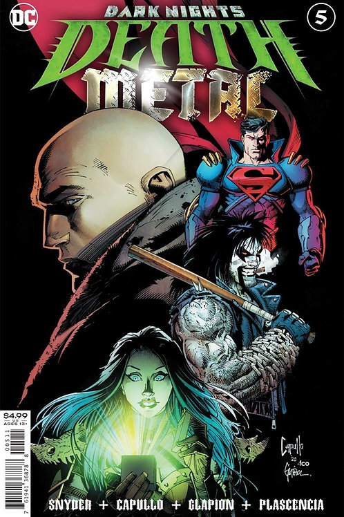 Dark Nights: Death Metal #5