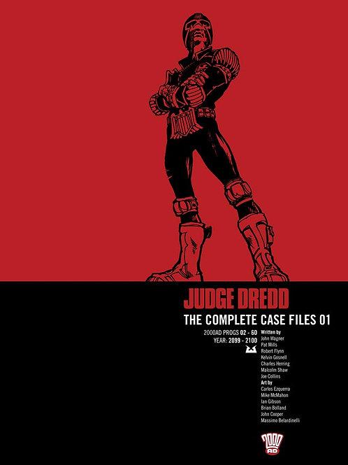 Judge Dredd: Complete Case Files Volume 1