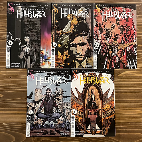 John Constantine: Hellblazer #1-2-3-4-5 Set
