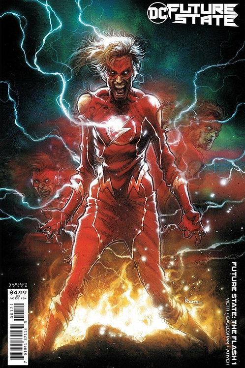 Future State The Flash #1 Kaare Andrews Variant