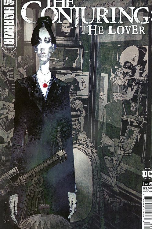 DC Horror Presents The Conjuring The Lover #1