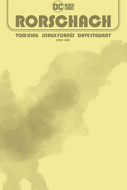 Rorschach #1 Blank Cover