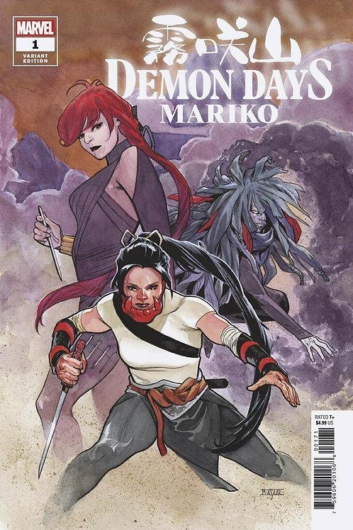 Demon Days Mariko #1 Mahmud Asrar Variant