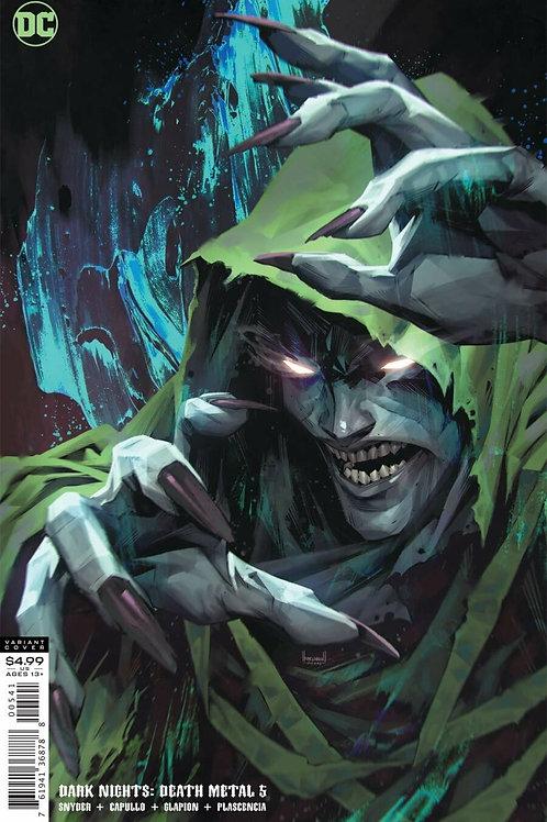 Dark Nights: Death Metal #5 Kael Ngu Variant