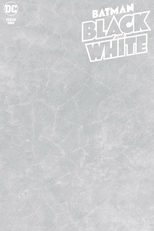 Batman Black & White #1 Blank Cover